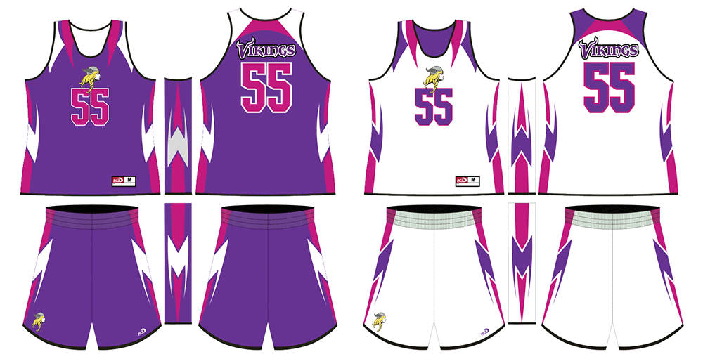 Sublimated 2-Ply Reversible Basketball Uniforms