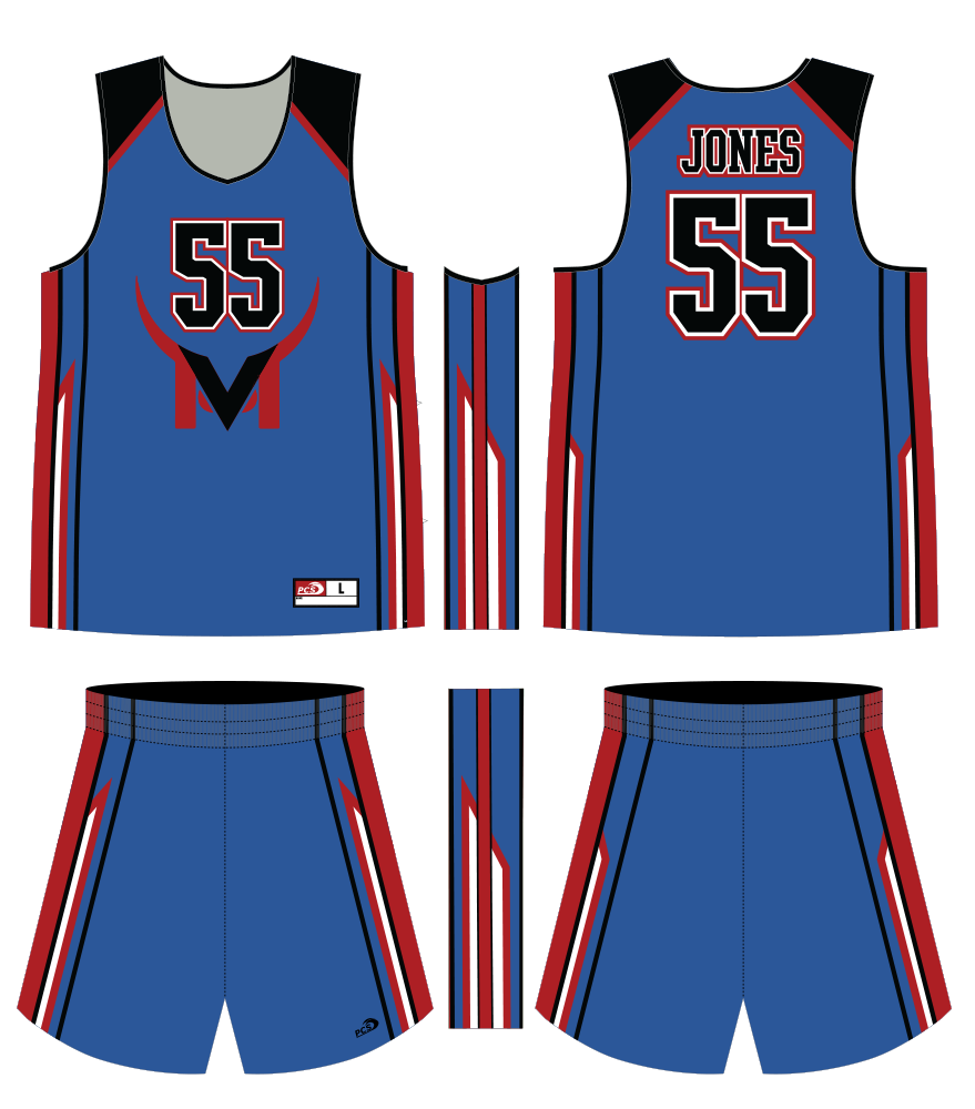 Men's Sublimated Basketball Top & Shorts