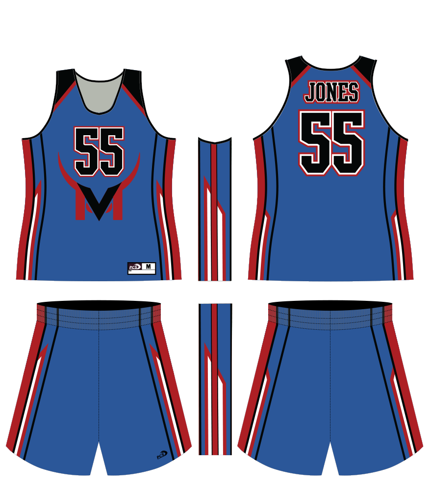 Women's Sublimated Basketball Top & Shorts