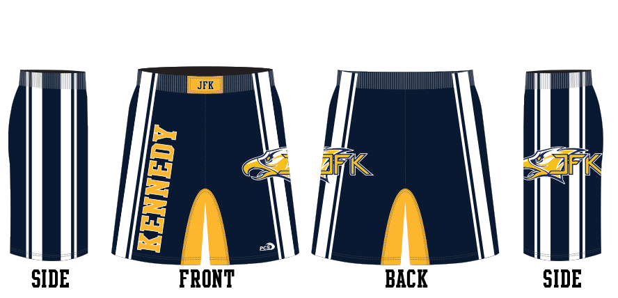 Sublimated Tight-Fit Wrestling Shorts