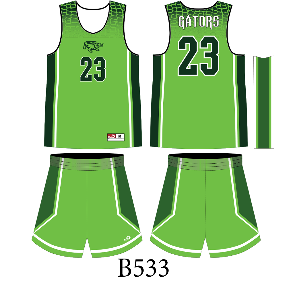 Sublimated Basketball Team Uniforms | Pacific Coast Sportswear