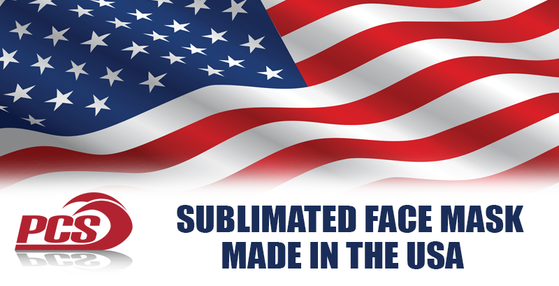 Sublimated Face Masks Made in the USA!