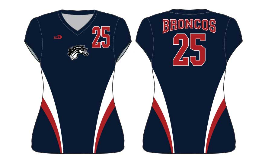 Women's Mini Cap-Sleeve Tight-Fit Sublimated Lycra Volleyball Uniforms
